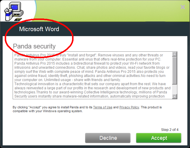 MSWord-PandaSecurity
