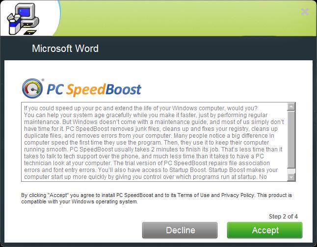 MSWord-PCSpeedBoost
